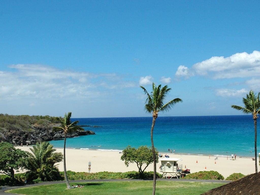 Hapuna Beach, Big Island, Hawaii, ranked 8th on the 2017 list of top 10 beaches