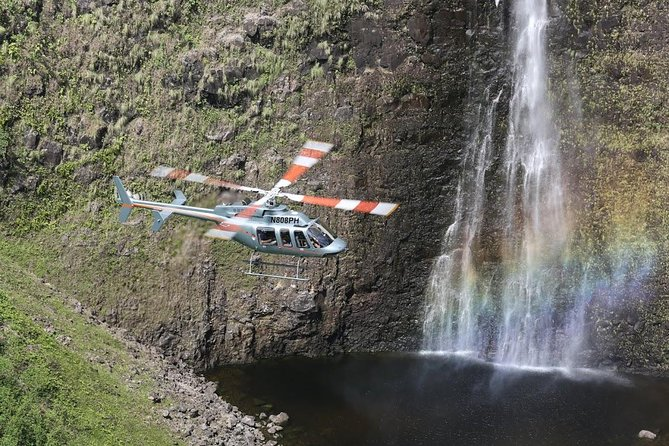 The Sunset Experience Helicopter Tour from Kona