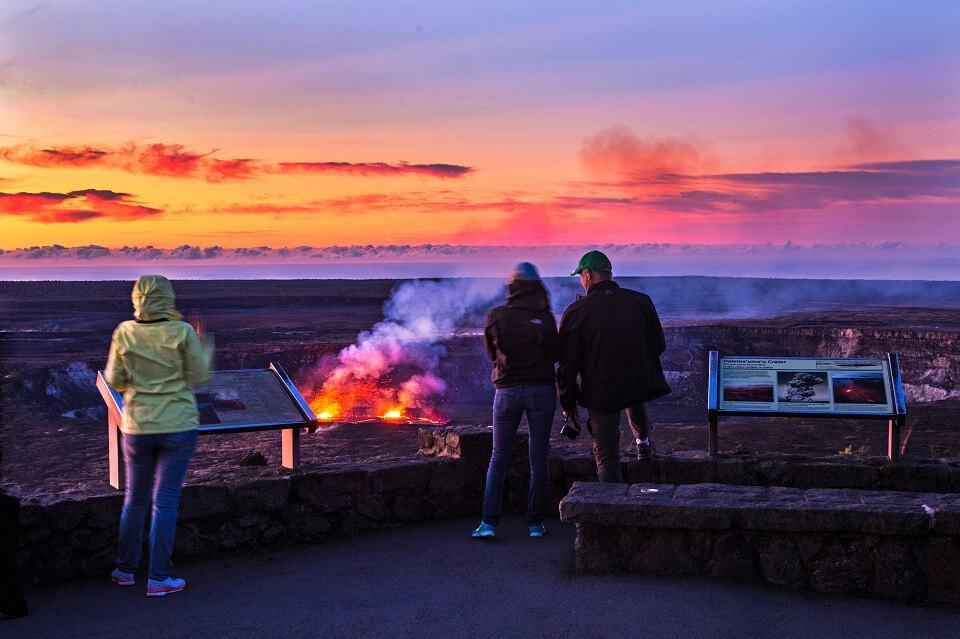 DIY lava walks on the Big Island